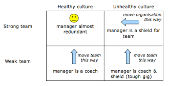 team culture quadrant