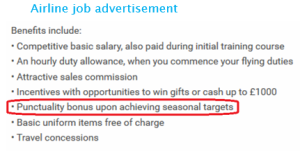 airline job ad
