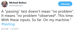 Michael Bolton's tweet