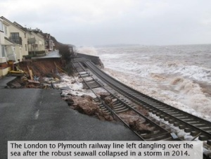 sea wall collapse