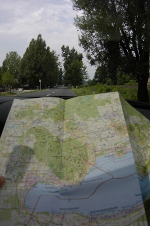map and road